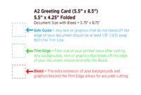 Greeting Card Template Free Download throughout A2 Card Template