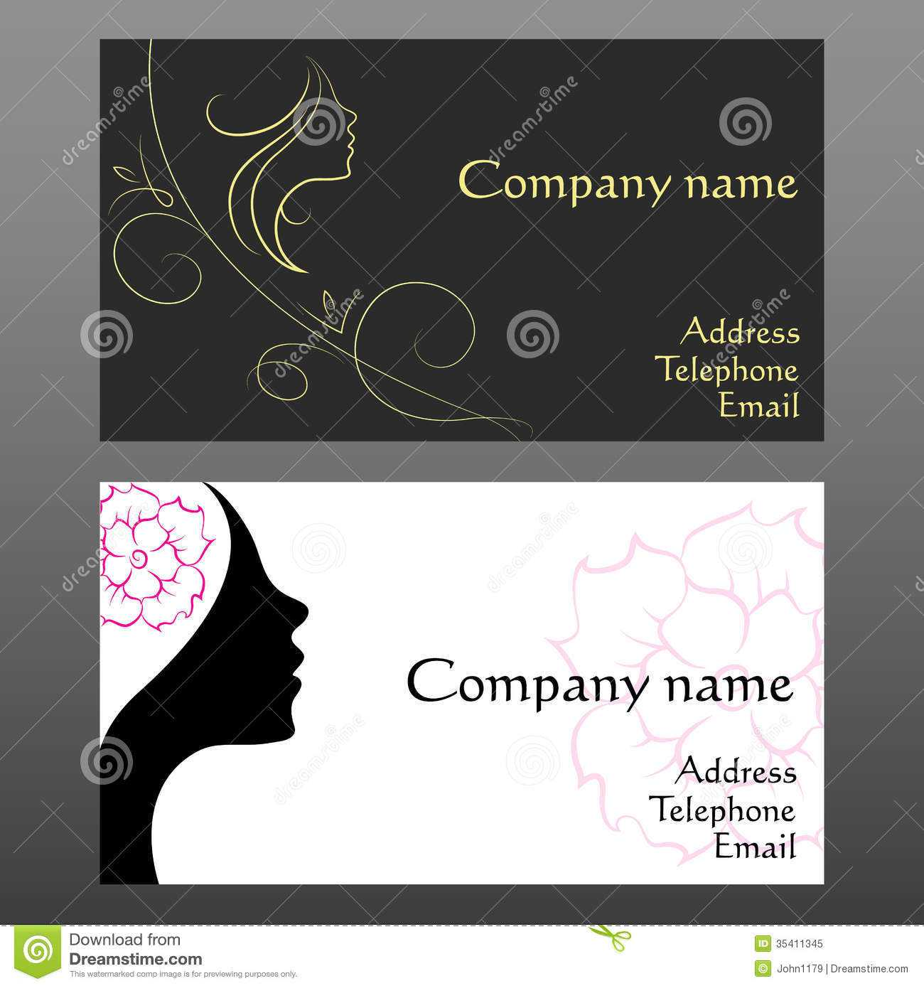 Hairdresser Business Card Templates Free - Zohre In Hairdresser Business Card Templates Free