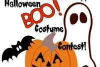 Halloween Costume Winner Clipart pertaining to Halloween Costume Certificate Template