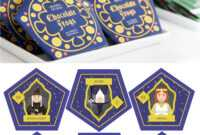 Harry Potter Chocolate Frogs – Free Printable Template For regarding Chocolate Frog Card Template