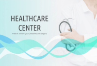 Healthcare Center – Free Presentation Template For Google throughout Free Nursing Powerpoint Templates