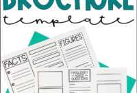 Historical Travel Brochure And Research Project   Literacy in Brochure Rubric Template