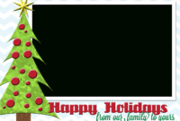 Holiday Card Transparent & Png Clipart Free Download – Ywd intended for Free Holiday Photo Card Templates