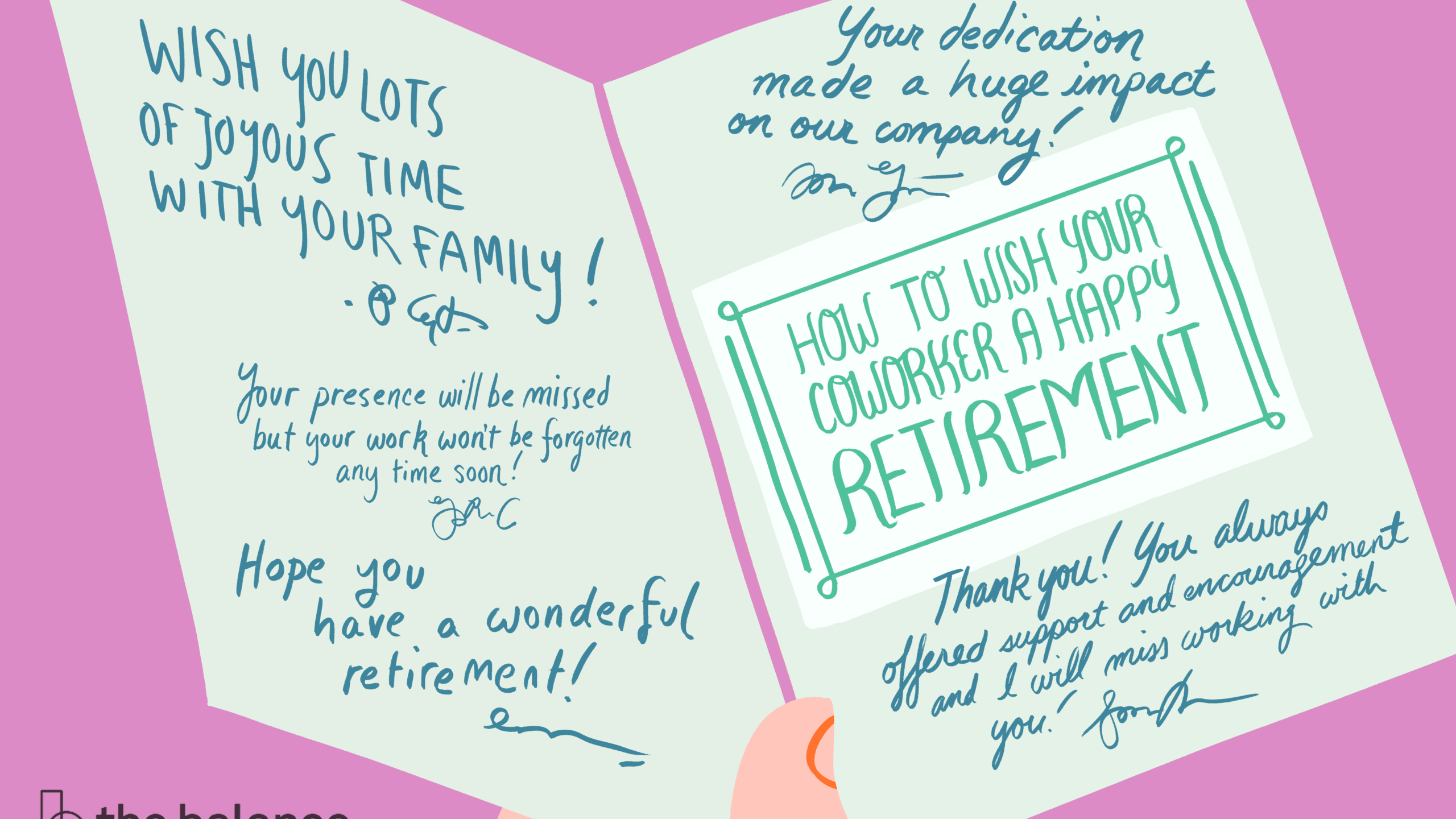 How To Best Wish Your Coworker A Happy Retirement In Sorry You Re Leaving Card Template