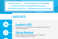 How To Create A Fact Sheet For New Hires + Examples throughout Fact Card Template