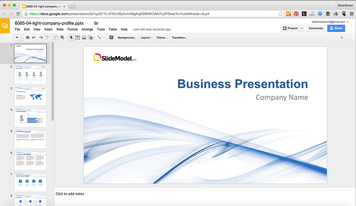 How To Edit Powerpoint Templates In Google Slides - Slidemodel Pertaining To How To Edit A Powerpoint Template