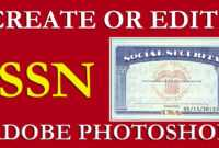 How To Edit Ssn | Ssn Pdf Template Download Free On Vimeo pertaining to Social Security Card Template Photoshop