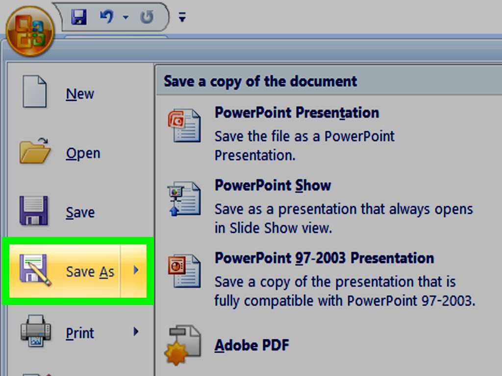 How To Make A Powerpoint Template - Wikihow Pertaining To How To Save Powerpoint Template