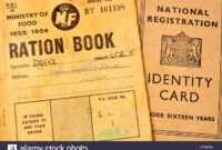 Identity Book Stock Photos & Identity Book Stock Images – Alamy in World War 2 Identity Card Template