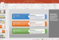 Info-Tabs-Powerpoint-Template – Fppt throughout Powerpoint Replace Template