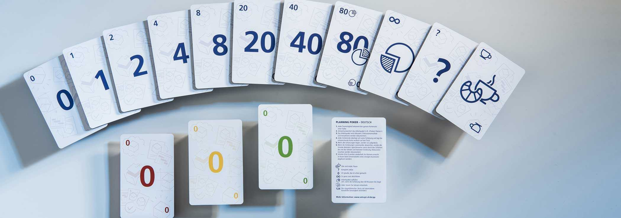 Instructions For Planning Poker With Planning Poker Cards Template