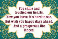 Invitation Templates That Are Perfect For Your Farewell inside Sorry You Re Leaving Card Template