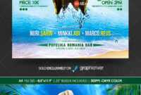 Island Flyer Graphics, Designs & Templates From Graphicriver inside Island Brochure Template