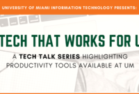 It News – Tech That Works For U | University Of Miami with regard to University Of Miami Powerpoint Template