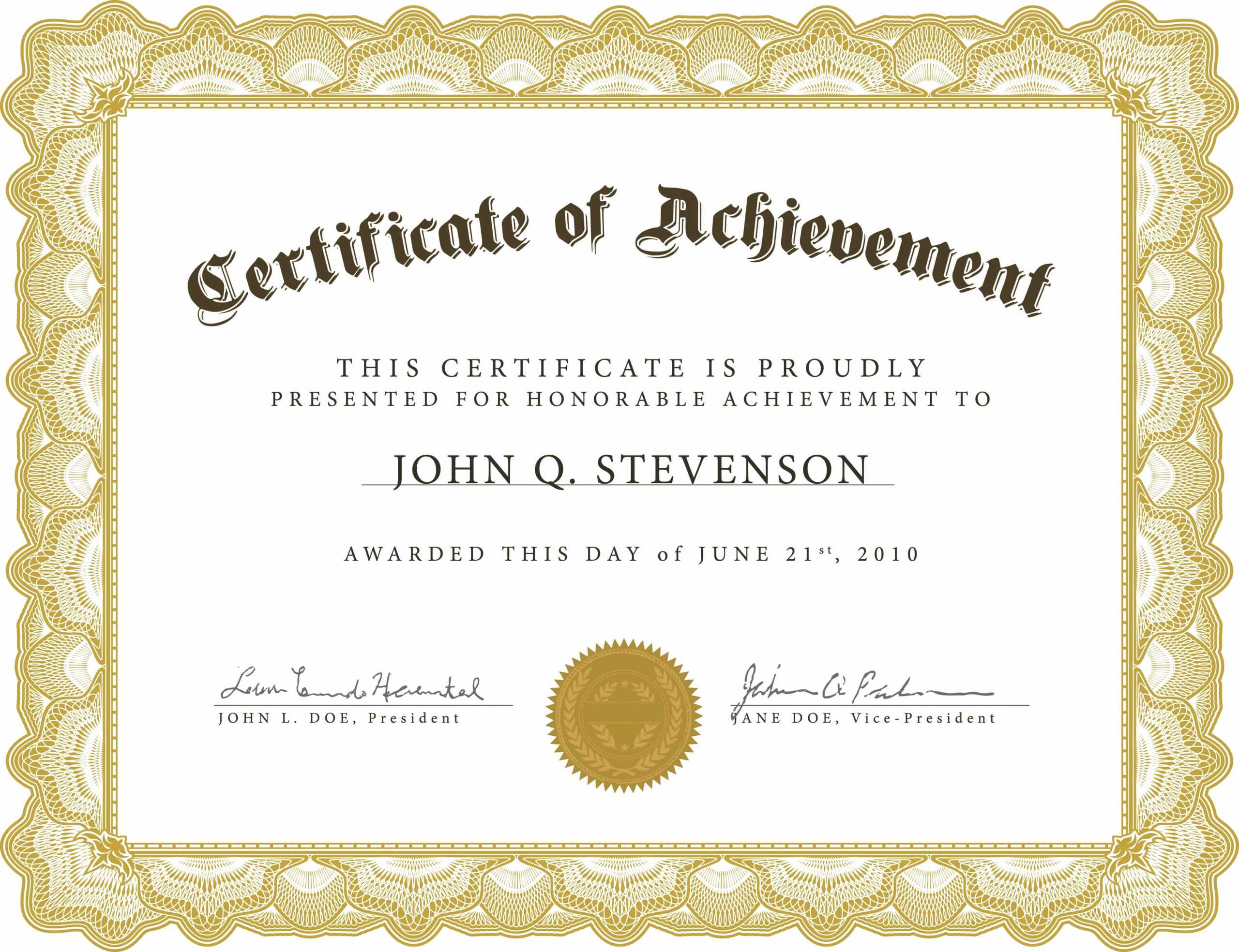 Long Service Certificate Template Sample - Zohre For Long Service Certificate Template Sample