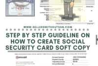 Make Ssn Card Form Psd Online No Need For Software Mobile with regard to Ssn Card Template