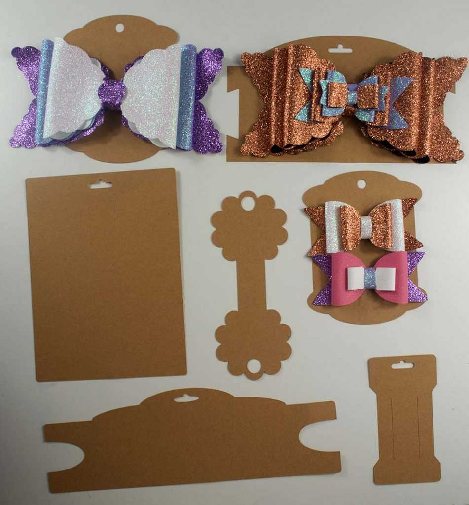 Making Bow And Headband Display Cards On The Cricut – Svg Regarding Headband Card Template