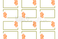 Mamas Together: Thanksgiving Place Card Printables & Diy in Thanksgiving Place Card Templates