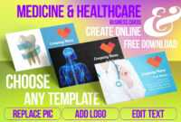 Medicine & Healthcare Business Card Samples For Create throughout Medical Business Cards Templates Free