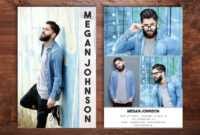 Menfashioncard Hashtag On Twitter intended for Download Comp Card Template