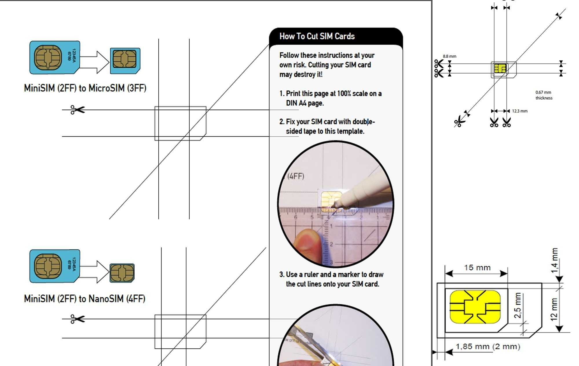 Micro Sim Card Template Letter Size Pdf – Bisatuh With Sim Card Template Pdf