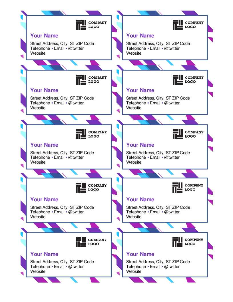 Microsoft Word Template For Business Cards - Zohre Throughout Business Cards Templates Microsoft Word