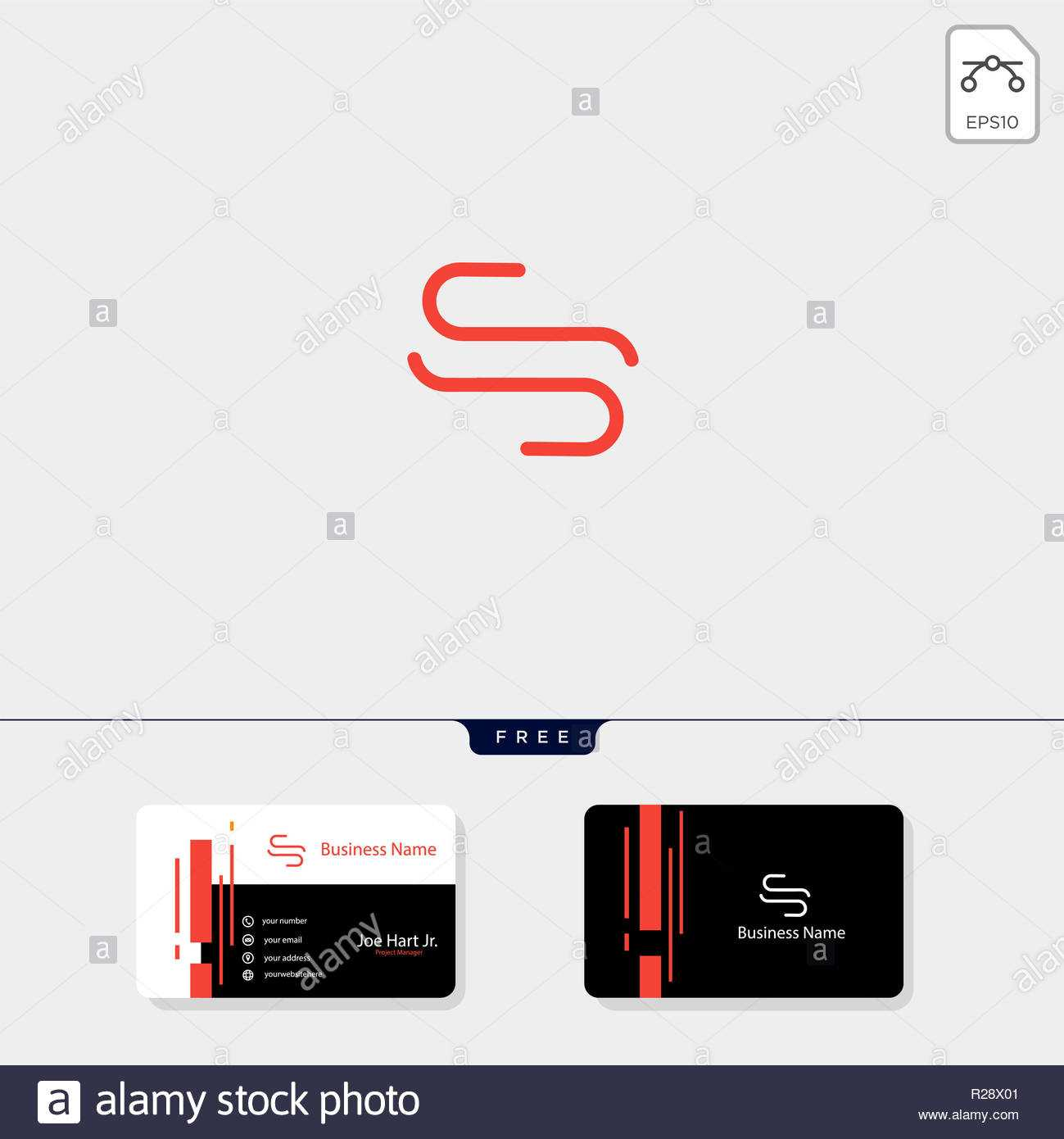 Minimal S Or Ss Initial Logo Template Vector Illustration For Ss Card Template