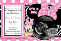 Minnie Mouse Invitations Printable Free – Mahre throughout Minnie Mouse Card Templates