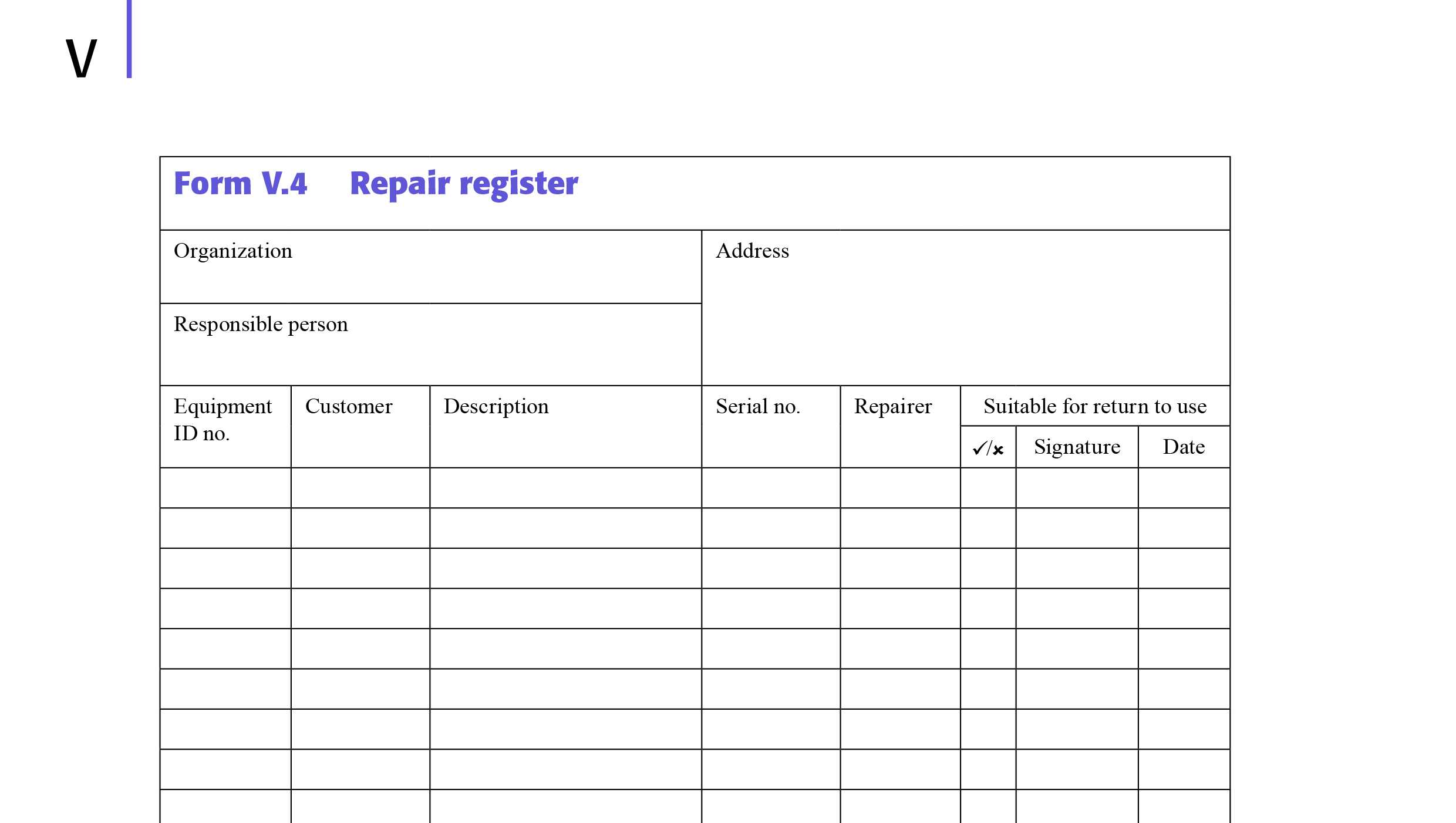 Model Forms Inside Electrical Installation Test Certificate Template