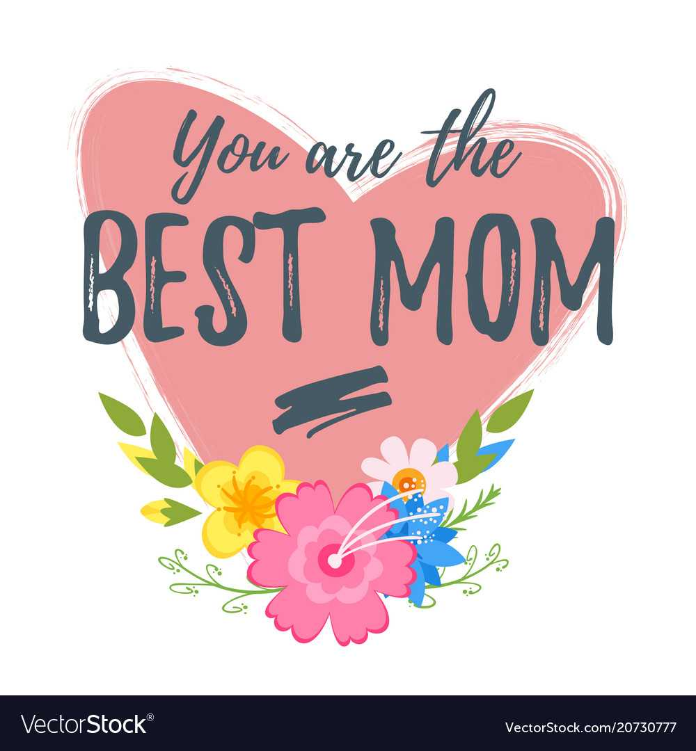 Mothers Day Greeting Card Template In Mom Birthday Card Template