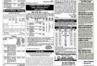 Navbharat Times Display Advertisement Rate Card Through for Advertising Rate Card Template