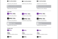 New School Visual Identity & Downloads with regard to Nyu Powerpoint Template
