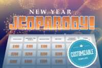 New Year's Jeopardy Powerpoint Template – Youth with regard to Trivia Powerpoint Template