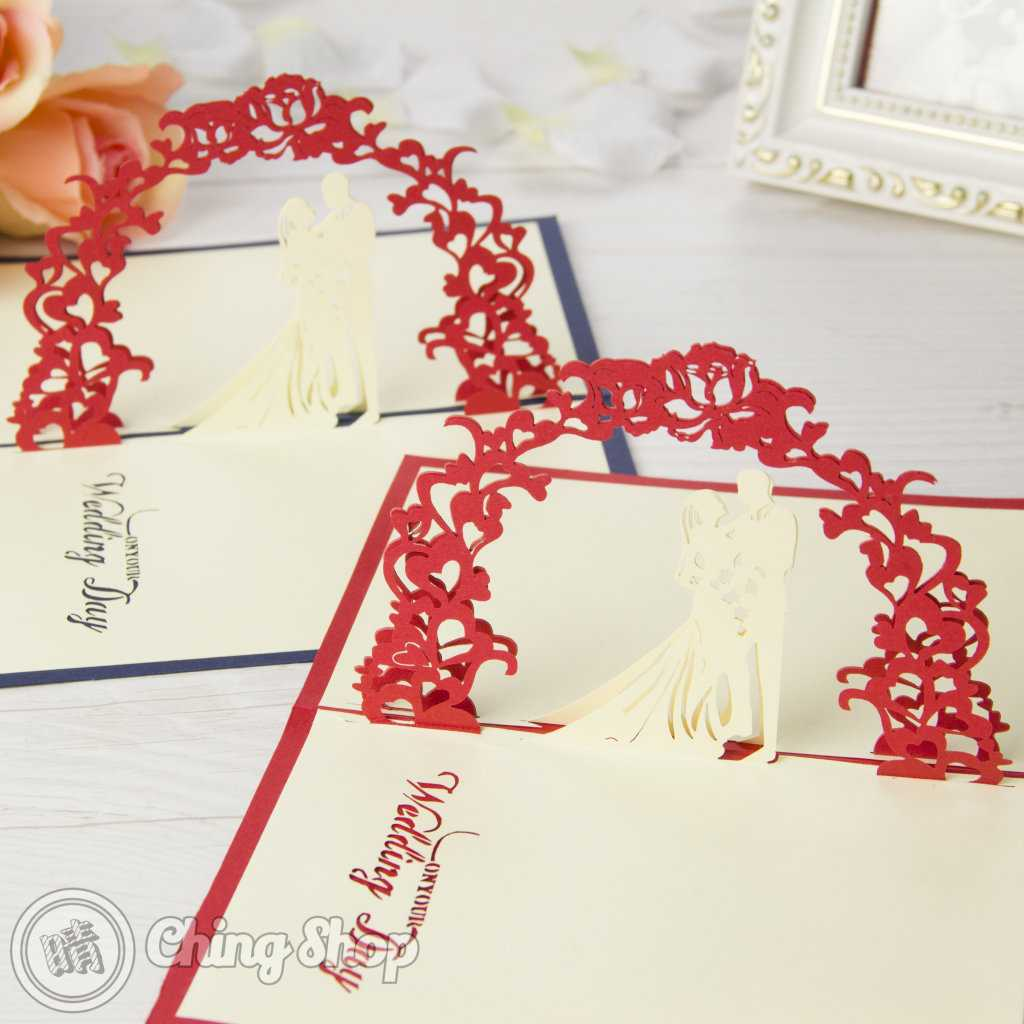 Newly Wed Bride & Groom Handmade 3D Pop Up Wedding Congratulations Card With Wedding Pop Up Card Template Free