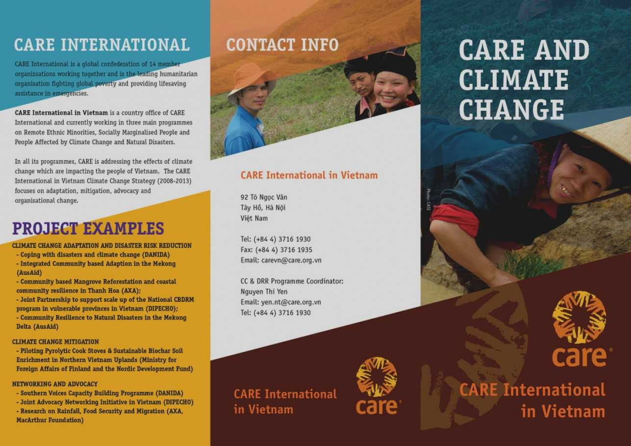 Ngo Brochure Templates - Carlynstudio For Ngo Brochure Templates