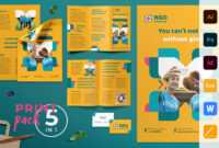 Ngo Templates Suite On Behance throughout Ngo Brochure Templates