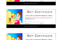 One Day Fun Certificate | Templates At Allbusinesstemplates intended for Fun Certificate Templates