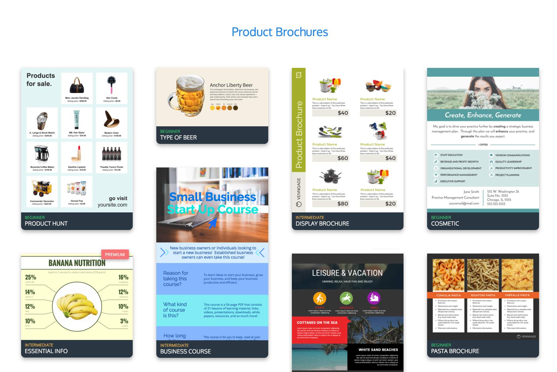 Online Brochure Maker: Design A Brochure For Free Pertaining To Online Brochure Template Free