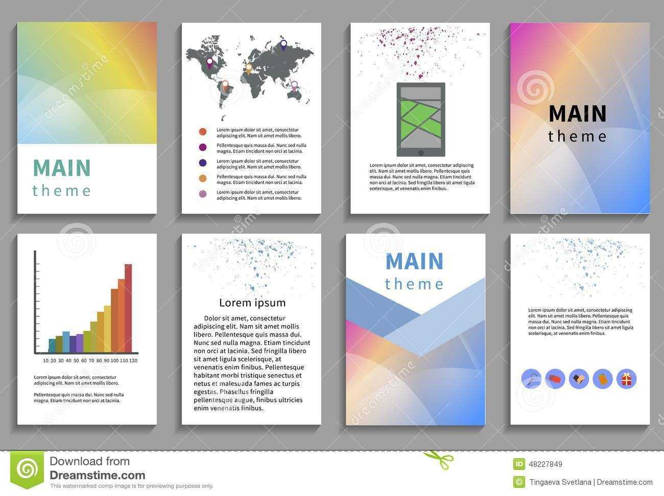 Online Brochure Template Free Ukran Agdiffusion Com Pertaining To Online Brochure Template Free