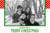 Photo Christmas Card Templates – Zohre.horizonconsulting.co inside Free Christmas Card Templates For Photographers