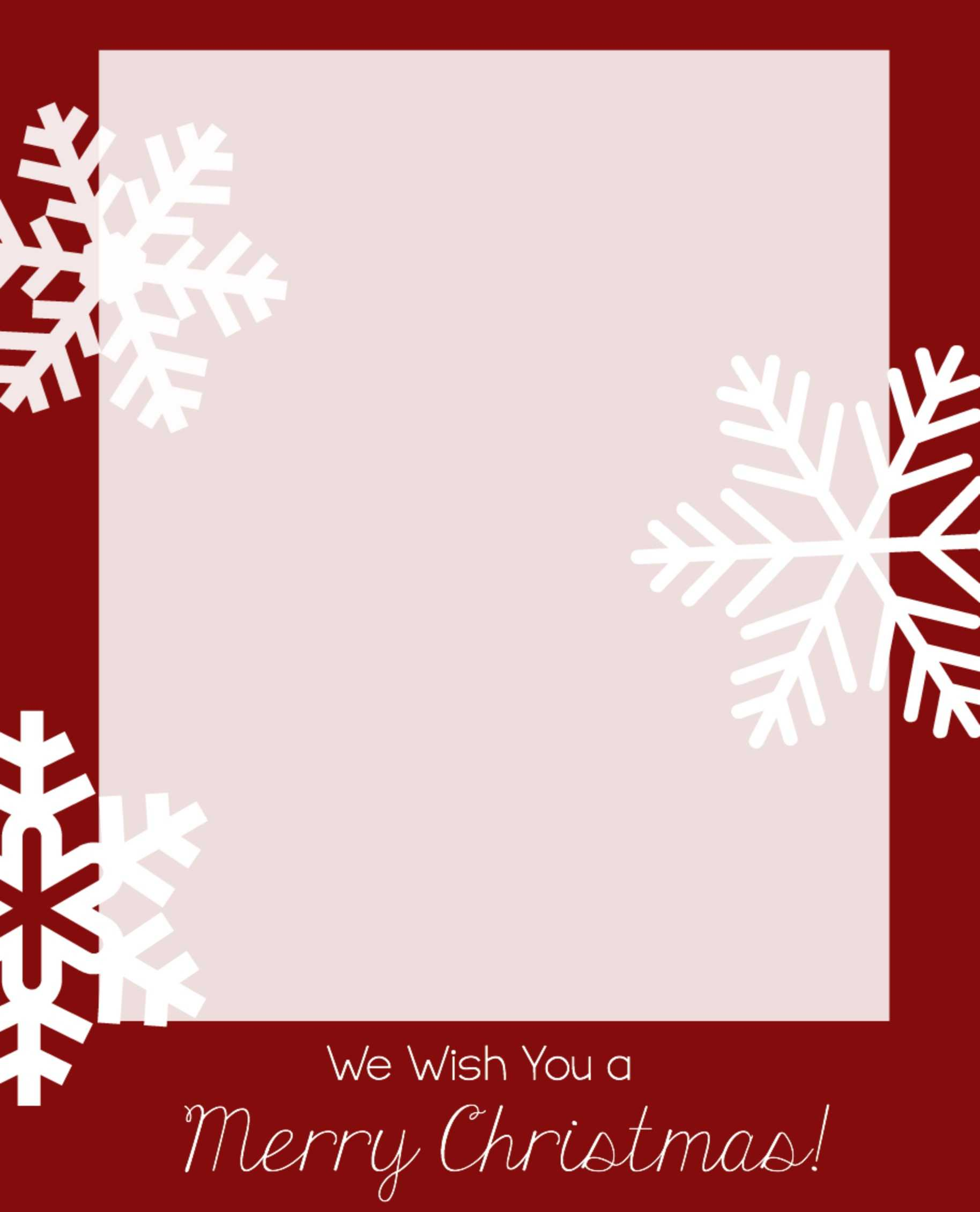 Photo Christmas Card Templates – Zohre.horizonconsulting.co Throughout Free Christmas Card Templates For Photographers
