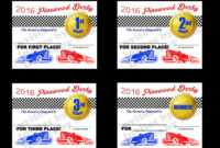 Pinewood Derby Certificate Template ] – Inspection intended for Pinewood Derby Certificate Template