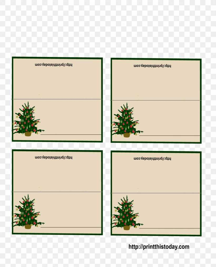 Place Card Christmas Decoration Christmas Card Template, Png Within Table Place Card Template Free Download