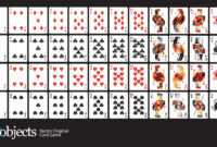 Playing Card Vector Art At Getdrawings | Free For with Free Printable Playing Cards Template