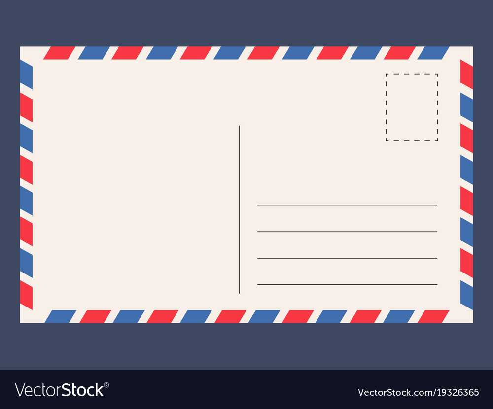 Post Card Template Within Post Cards Template