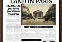Powerpoint Newspaper Template with regard to Newspaper Template For Powerpoint