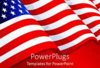 Powerpoint Template: American Flag Patriotic Background With intended for Patriotic Powerpoint Template