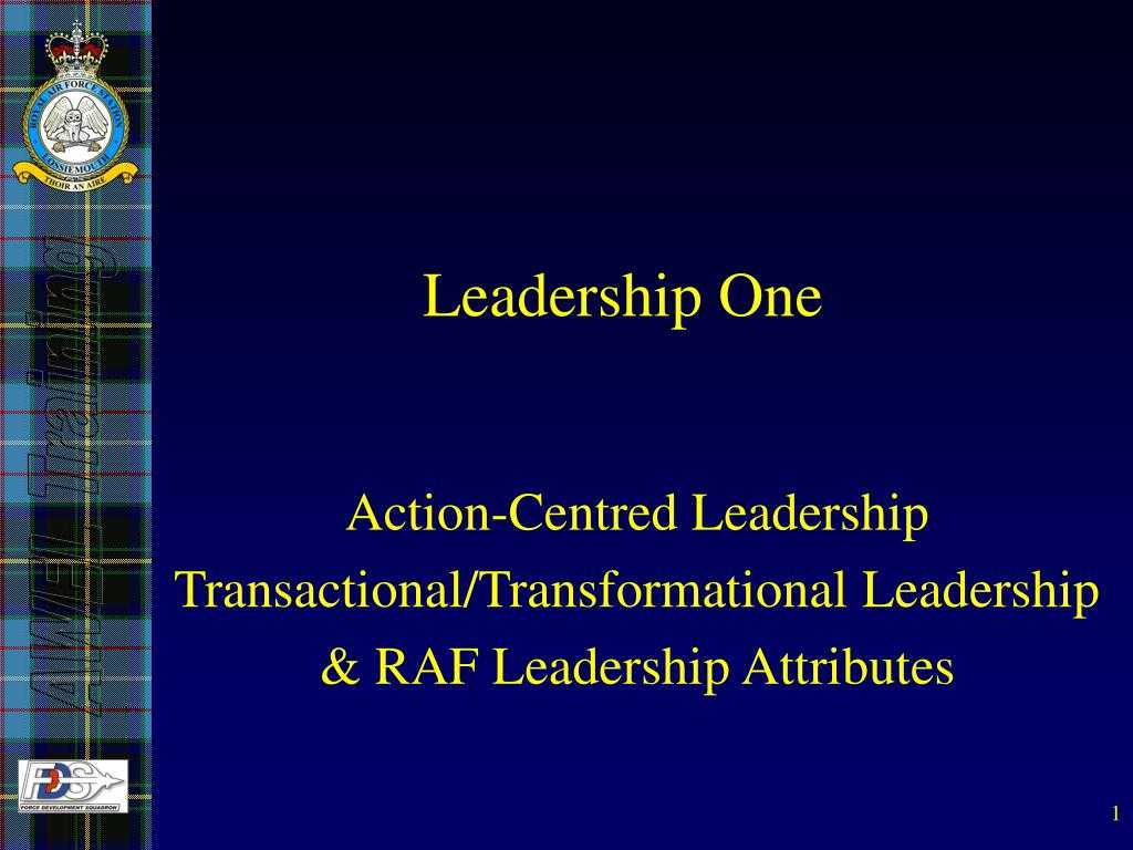 Ppt - Leadership One Powerpoint Presentation, Free Download With Raf Powerpoint Template