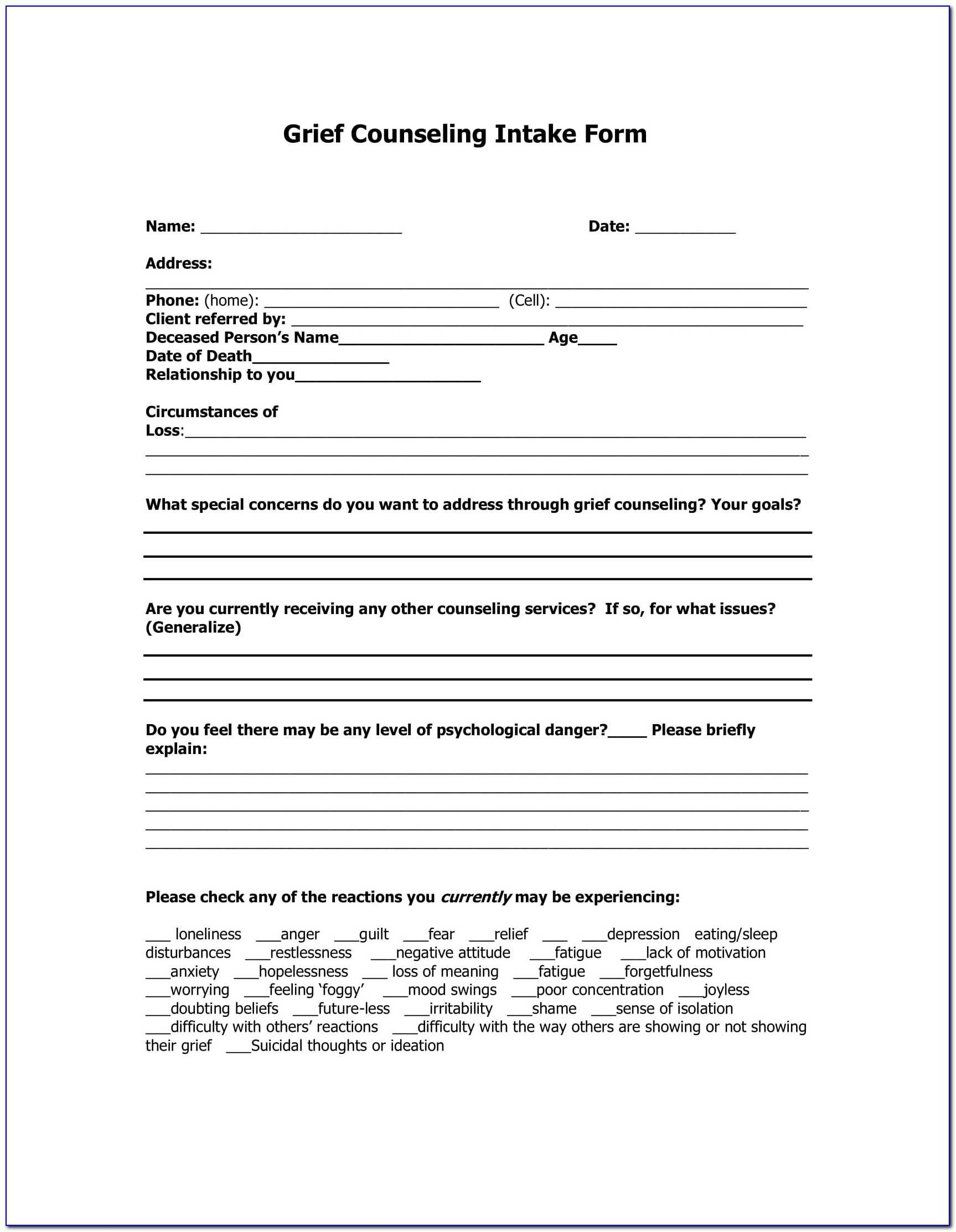 Premarital Counseling Format - Form : Resume Examples In Premarital Counseling Certificate Of Completion Template