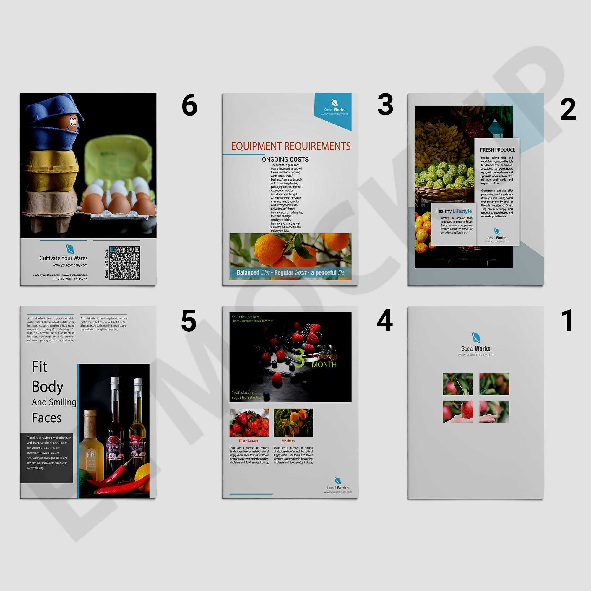 Premium Wine Brochure Template | Eymockup Within Wine Brochure Template